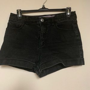 Off Black / Charcoal Gray Shorts Size 7